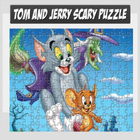 Tom And Jerry Scary Puzzle