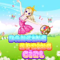Dancing Spring Girl