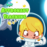 Astronaut Slacking