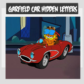 Garfield Car Hidden Letters
