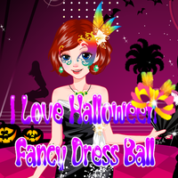 I Love Halloween Fancy Dress Ball
