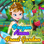 Frozen Anna: Fruit Garden