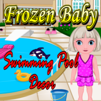 Frozen Baby Swimming Pool Decor