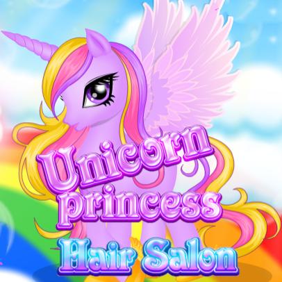 Unicorn Princess: Hair Salon