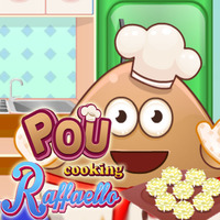 Pou: Cooking Raffaello
