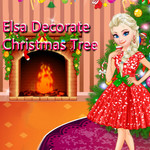 Elsa: Decorate Christmas Tree