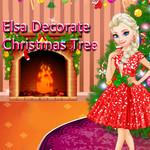 Elsa: Decorate Christmas Tree