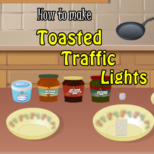 How To Make Toasted Traffic Lights