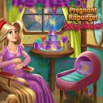 Pregnant Rapunzel: Baby Shower