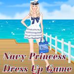 Navy Princess Dress Up Game