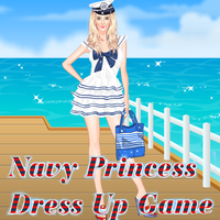 Navy Princess Dress Up Game