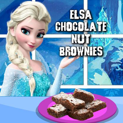 Elsa: Chocolate Nut Brownies