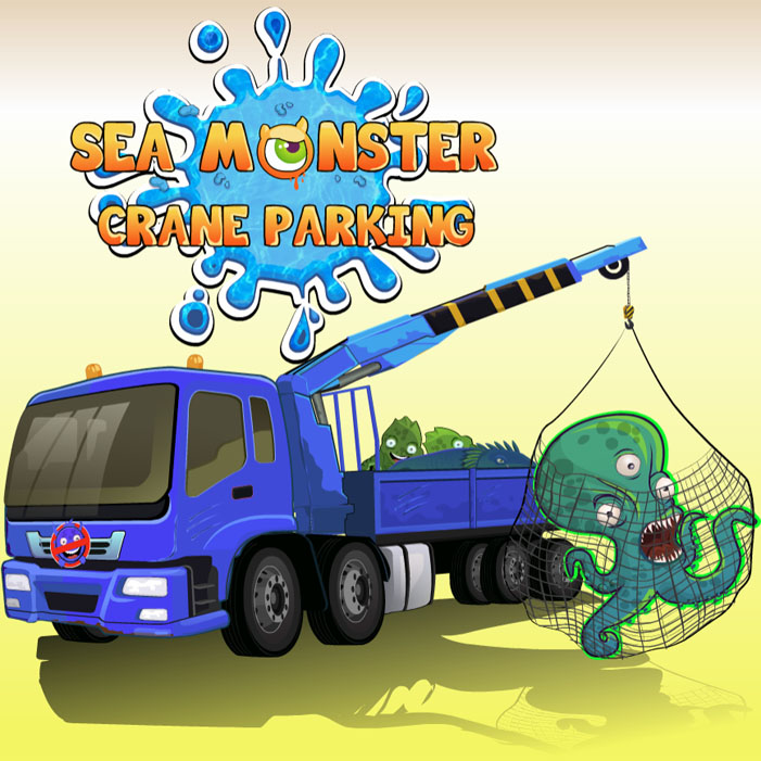 Sea Monster Crane Parking