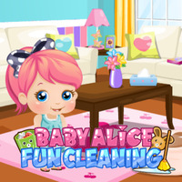 Baby Alice: Fun Cleaning