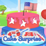 4th Of July: Cake Surprise