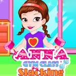 Anna Gym Slacking