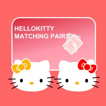 Hello Kitty Matching Pairs