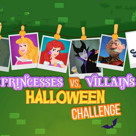 Princesses vs. Villains Halloween Challenge