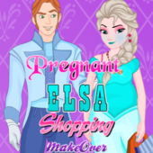 Pregnant Elsa Shopping Makeover