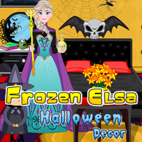 Frozen Elsa Halloween Decor