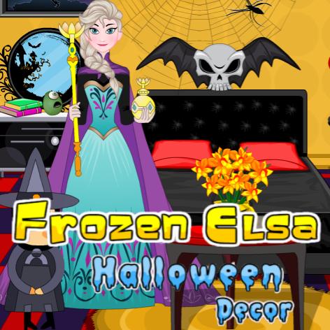 Frozen Elsa Halloween Decor