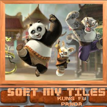 Sort My Tiles Kung Fu Panda