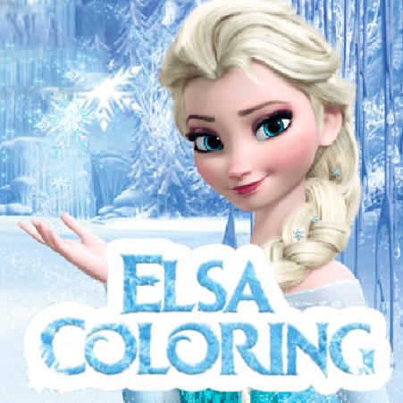 Elsa Coloring