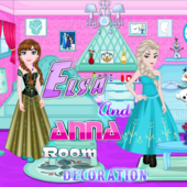 Elsa And Anna Room Decoration