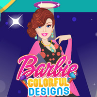 Barbie Colorful Designs