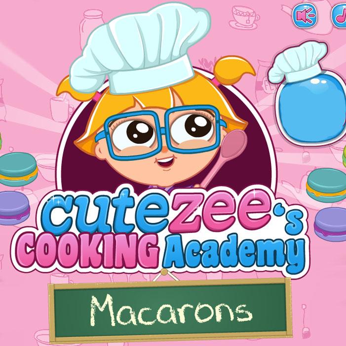 Cutezee's Cooking Academy: Macarons