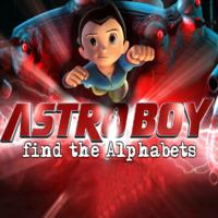 Astro Boy find the Alphabets