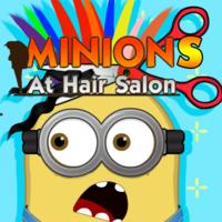 Minions At Hair Salon