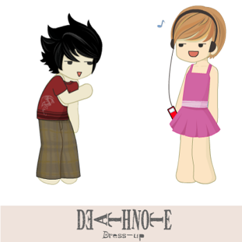 Death Note Dress - Up