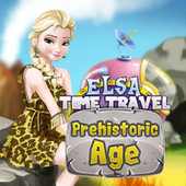 Elsa Time Travel Prehistoric Age