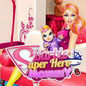 Barbie Super Hero Mommy