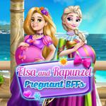 Elsa And Rapunzel Pregnant BFFs