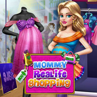 Mommy Realife Shopping