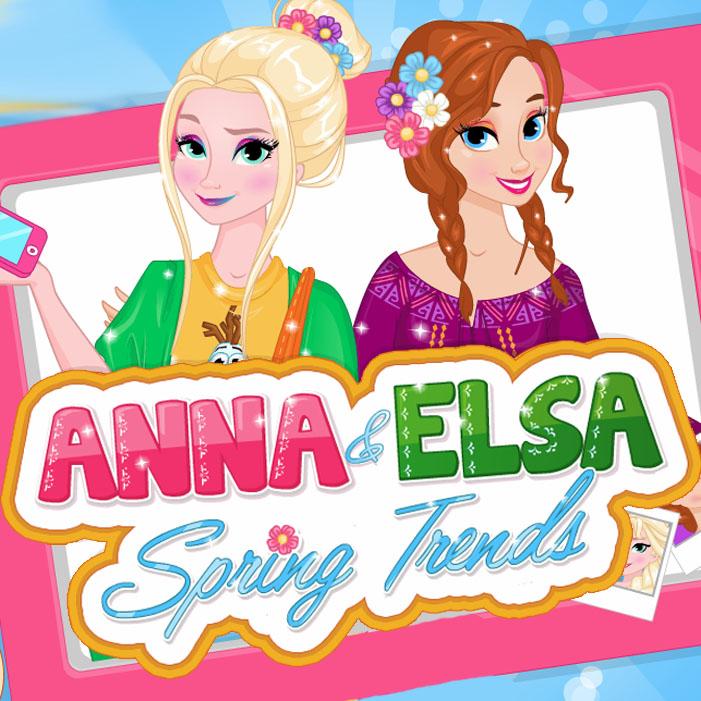 Elsa & Anna Spring Trends