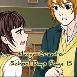 Manga Creator School Days Page 15