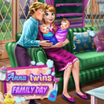 Anna Twins Family Day