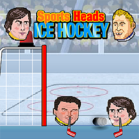 Sports Heads Ice Hockey