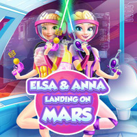 Elsa & Anna Landing on Mars