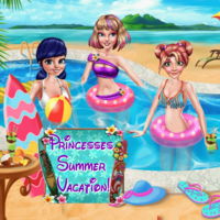 Princesses Summer Vacation!