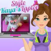 Style Kaya's Laptop