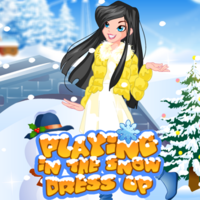 Playing In The Snow Dress Up