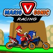 Mario Vs Sonic Racing