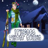 Princess Winter Skiing