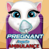 Pregnant Angela Ambulance
