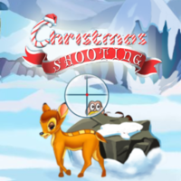 Popularne darmowe gry,Christmas Shooting is one of the Tap Games that you can play on UGameZone.com for free. Hey, guys, Christmas is coming! Let's prepare some delicious food for Christmas dinner! But to finish that work, we must get some ingredients at first. So grab your gun and follow me! We need to kill as many turkeys as we can in a limited time. I know you can, so just suit up and come on!
