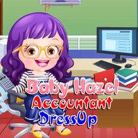Baby Hazel Accountant Dressup